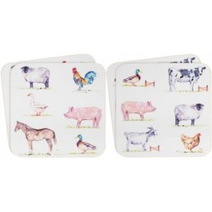 COUNTRY LIFE FARM 11 CM COASTERS PACK OF 4