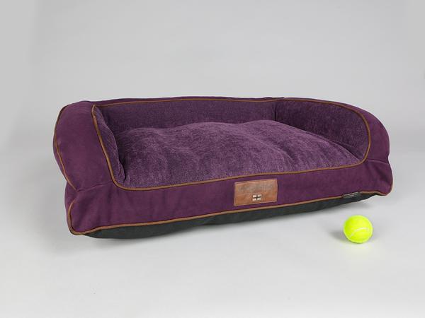 George Barclay Exbury Sofa Bed - Deluxe Edition - Blackberry