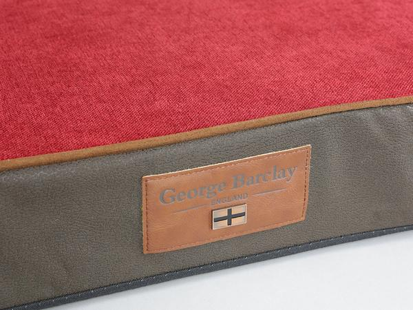 George Barclay Beckley Mattress Bed - Deluxe Edition - Mahogany / Cherry, Large - 100 x 70 x 10cm