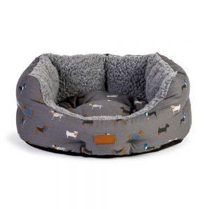 DANISH DESIGN FATFACE MARCHING DOG SLUMBE BED