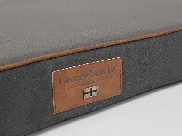 George Barclay Hursley Mattress Bed - Chocolate / Chestnut, X-Large - 120 x 80 x 12cm