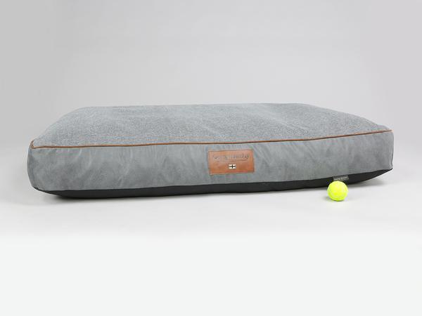George Barclay, Axford Mattress Bed - Graphite / Cloudburst, XX-Large - 135 x 90 x 15cm