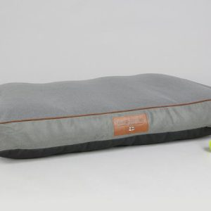 George Barclay, Beckley Mattress Bed - Pewter / Ash, X-Large - 120 x 80 x 12cm