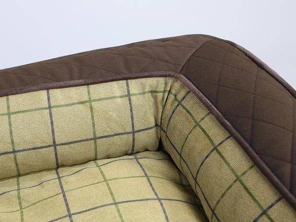 Country Sofa Bed - Chestnut Brown, Medium - 90 x 65 x 22cm