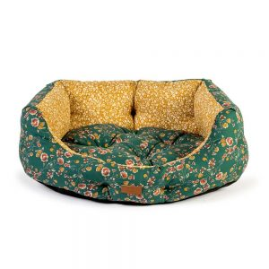 Danish Design FatFace Meadow Floral Deluxe Dog Slumber Bed