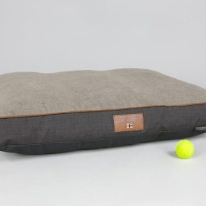 George Barclay Hyde Mattress Bed - Espresso / Latte, Large - 100 x 70 x 10cm