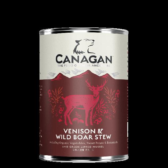 CANAGAN VENISON & WILD BOAR STEW