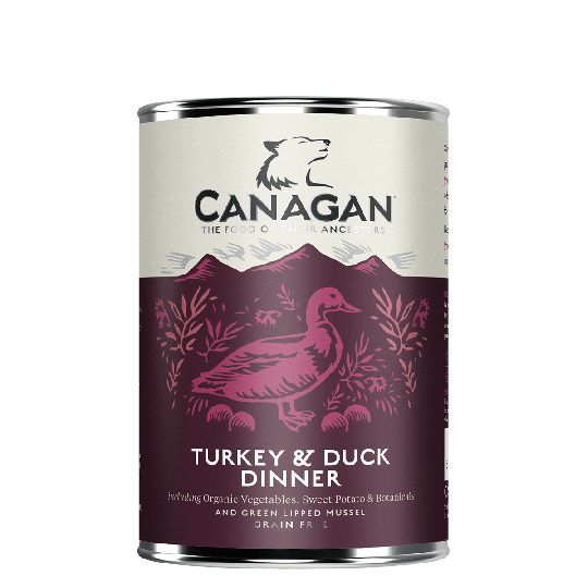 CANAGAN TURKEY & DUCK DINNER