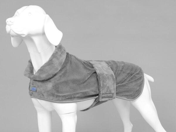 MUTTMOP DOG DRYING COAT, JACKET, Robe Grey