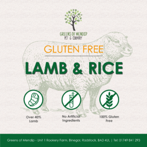 Gluten Free Lamb and Rice