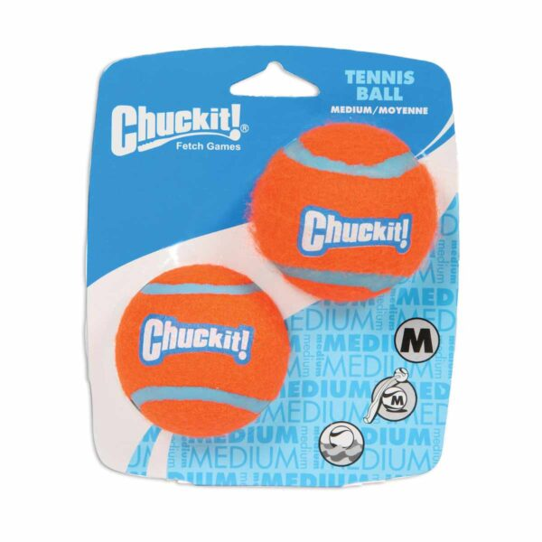Chuckit Tennis ball medium 2pack