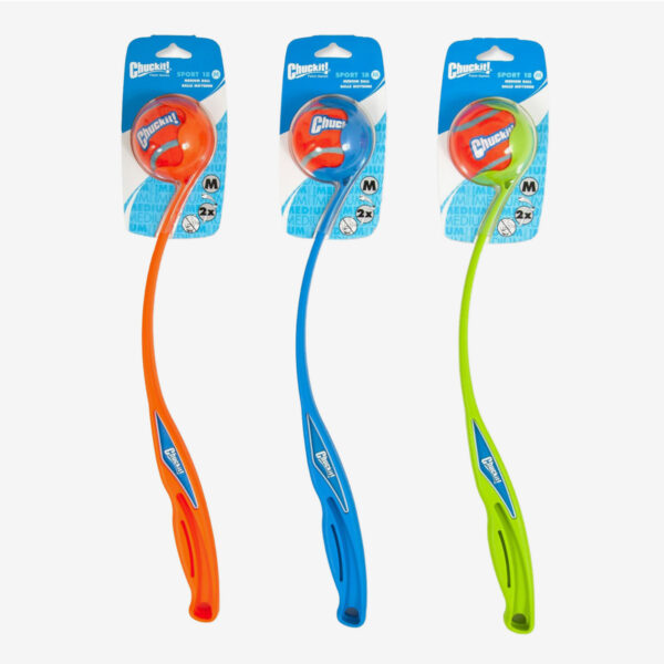 Chuckit sport 18 Medium blue orange & green