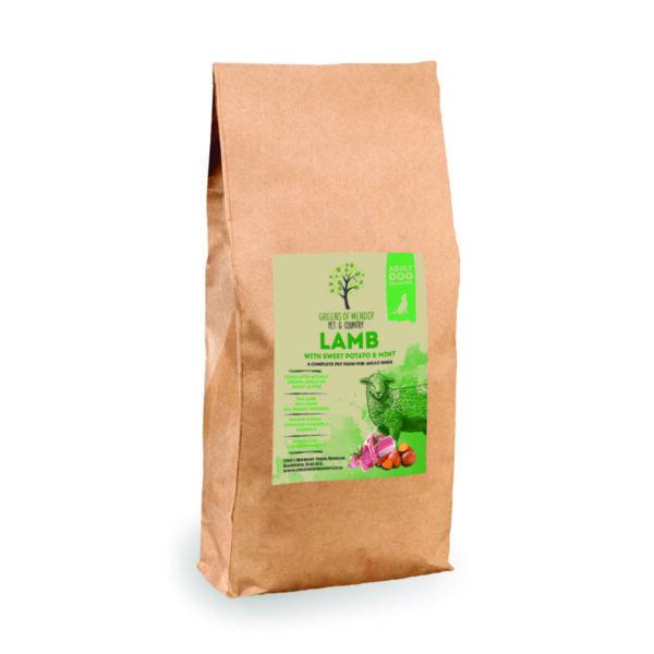Grain Free Lamb with Sweet Potato & Mint
