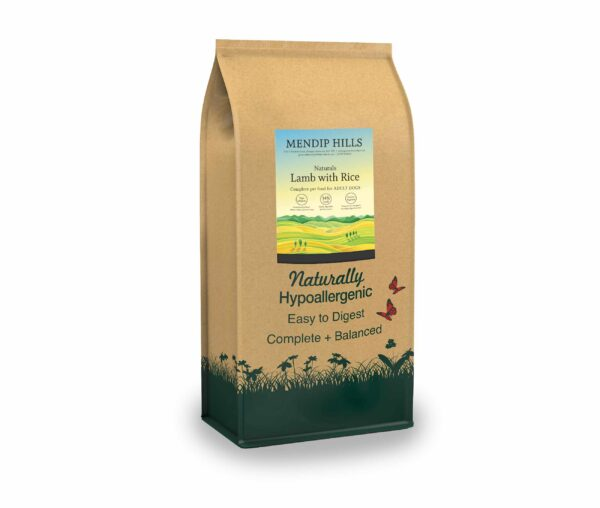 Hypoallergenic Lamb & Rice Dog Food
