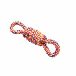Twisted tee coil tugger with handles