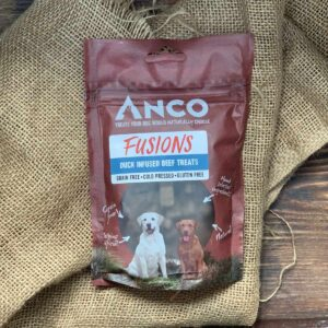 Anco Fusions Beef Infused with Duck Treats 100g