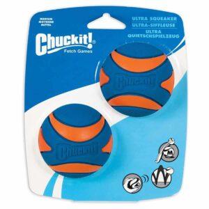 Chuckit Ultra Squeaker Medium – 2 Pack