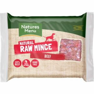 Natures Menu Natural Raw Mince Beef 400g