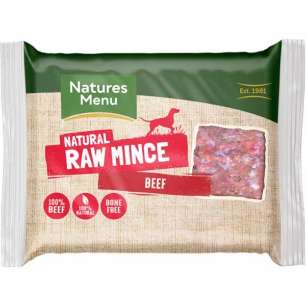 Natures Menu Natural Raw Mince Beef 400g