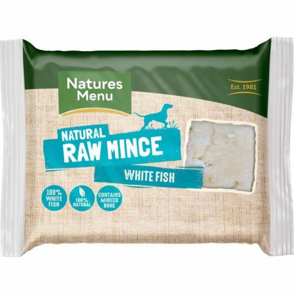 Natures Menu Natural Raw Mince White Fish