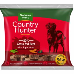 Natures Menu Country Hunter 80% Grass Fed Beef