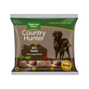 Natures Menu Country Hunter 80% Rabbit