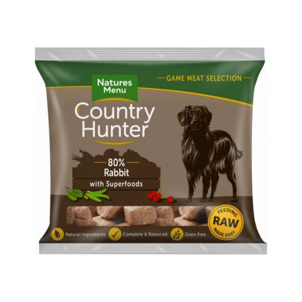 Natures Menu Country Hunter 80% Rabbit