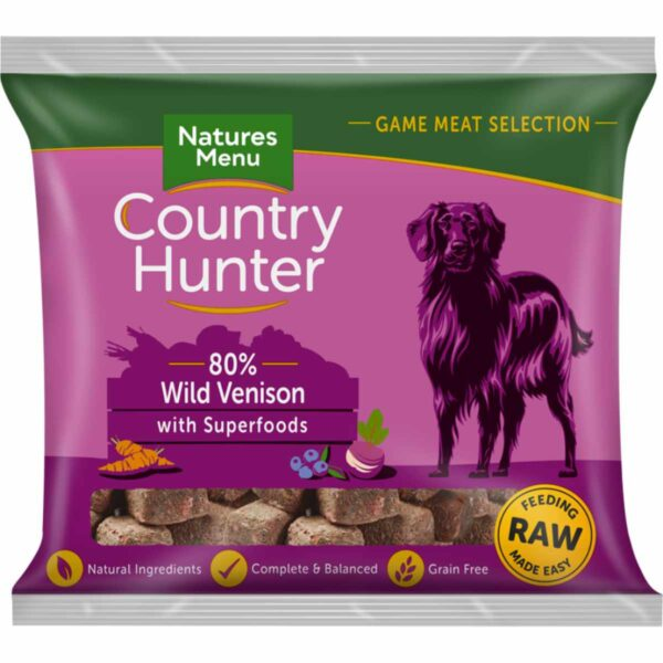 Natures Menu Country Hunter 80% Venison