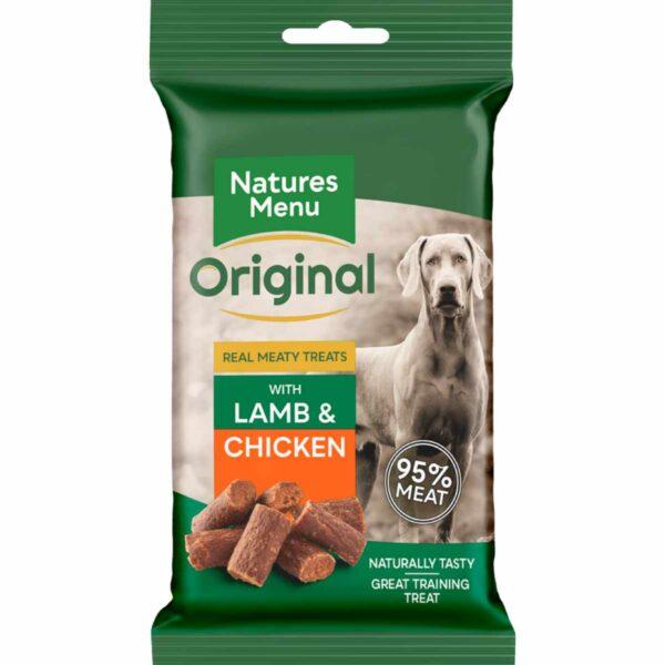 Natures Menu Lamb & Chicken Treats 60g