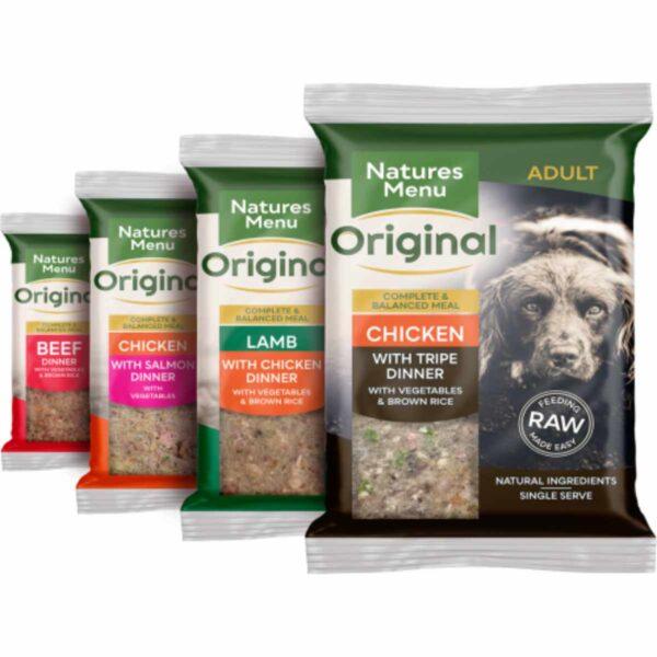 Natures Menu Complete & Balanced Raw Dinner 12 pack x 300g