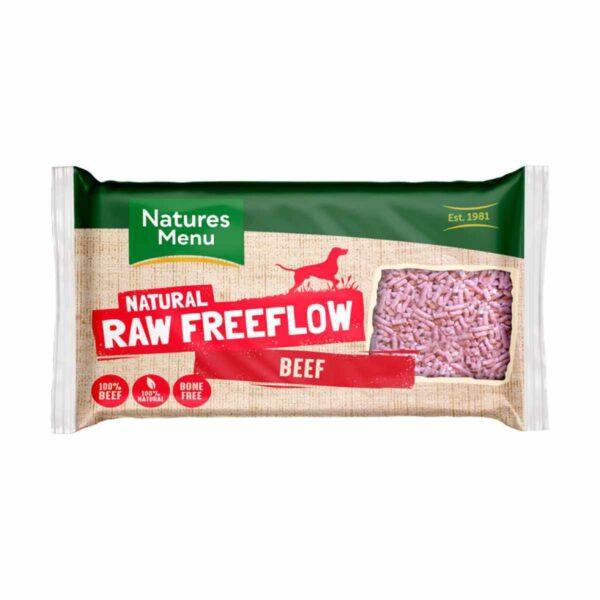 Natures Menu Natural Raw Freeflow Beef 2kg