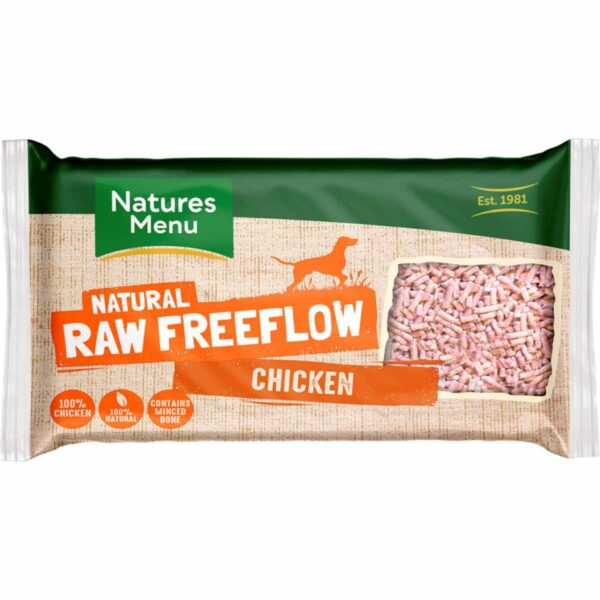Natures Menu Natural Raw Freeflow Chicken 2kg