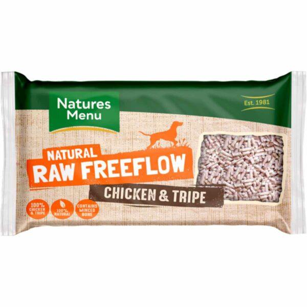 Natures Menu Natural Raw Freeflow Chicken & Tripe