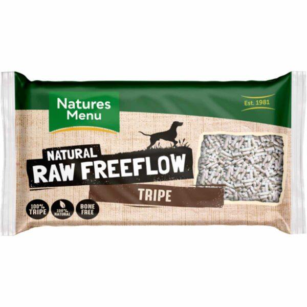 Natures Menu Natural Raw Freeflow Tripe 2KG