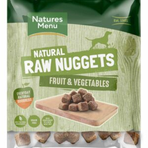 Natures Menu Raw Nuggets Fruit & Vegetables 1kg