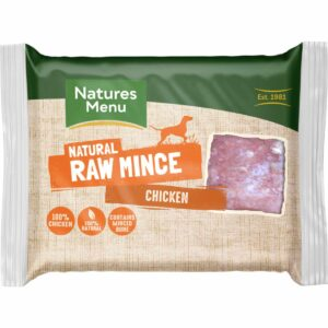 Natures Menu raw mince chicken