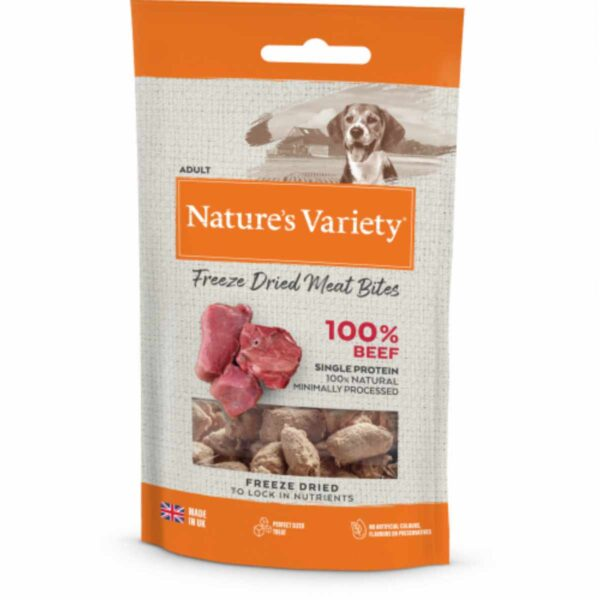 Natures Variety 100% Beef Treats 20g