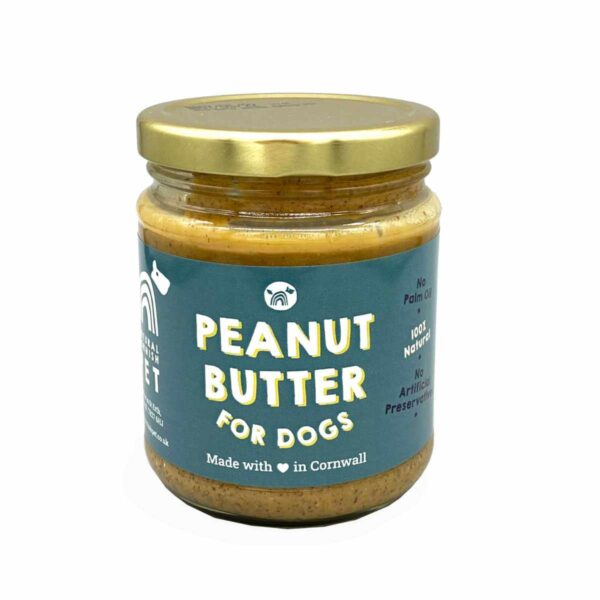 Natural Cornish Pet Peanut Butter for Dogs 250g