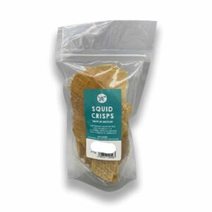 Squid Crisps Dog Treat 75g