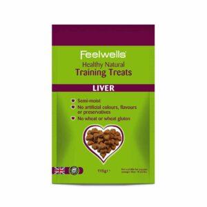 Healthy Training Liver Treats 115g