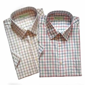Hawksward Country Classics Mens Short Sleeve Check Shirt Malvern