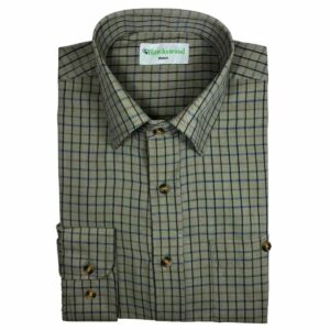 Hawksward Country Classics Mens Long Sleeve Check Shirt Moorland
