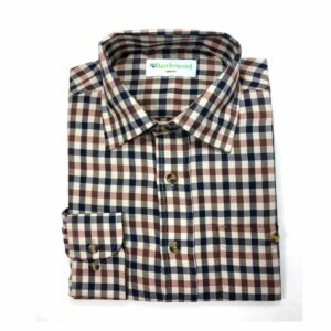 Hawksward Country Classics Mens Long Sleeve Check Shirt Warwick