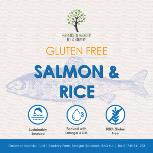 Greens Wheat Gluten Free Salmon & Rice