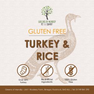 Greens Wheat Gluten Free Turkey & Rice
