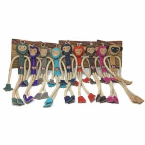 Miro & Makauri Milo the Monkey - Natural Eco-Friendly Dog Toy