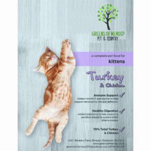 Kitten Turkey & Chicken